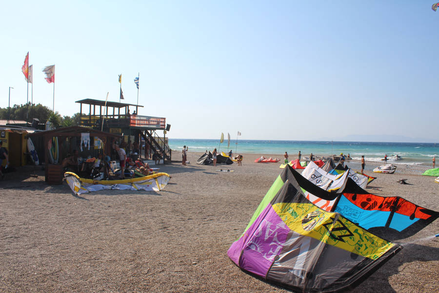 Theologos kitesurfing center